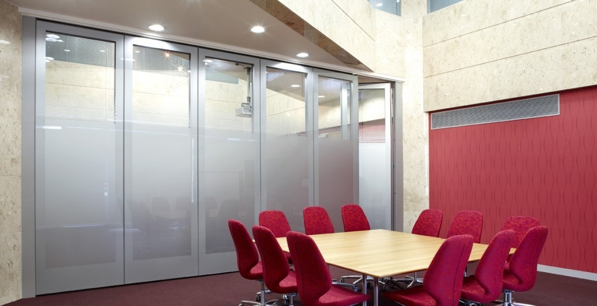 GS100 Double Glazed Movable Wall 9