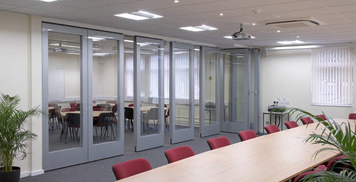 GS100 Double Glazed Movable Wall 4