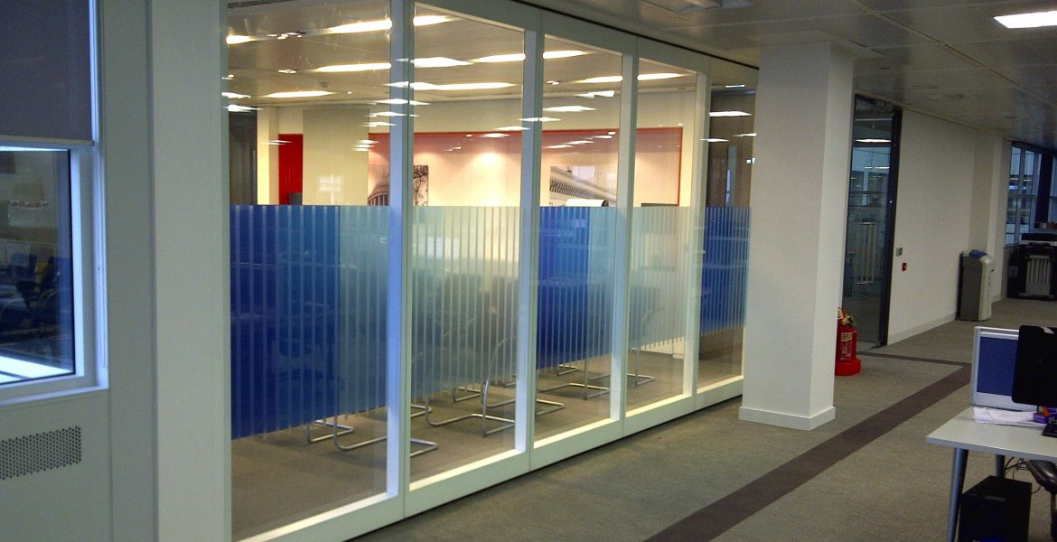 GS100 Double Glazed Movable Wall 6
