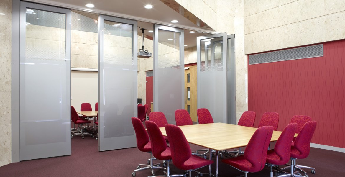 GS100 Double Glazed Movable Wall 8