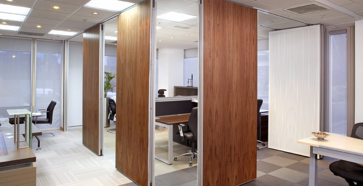 Series AP 100 Acoustic Operable Wall Systems 3