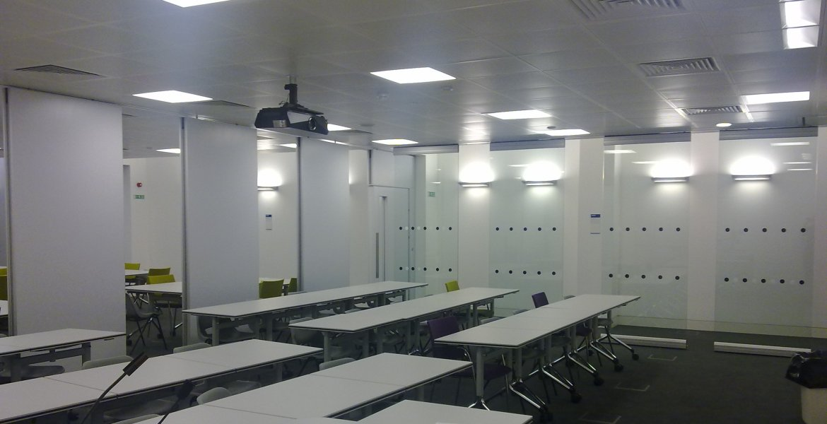Series AP 100 Acoustic Operable Wall Systems 5