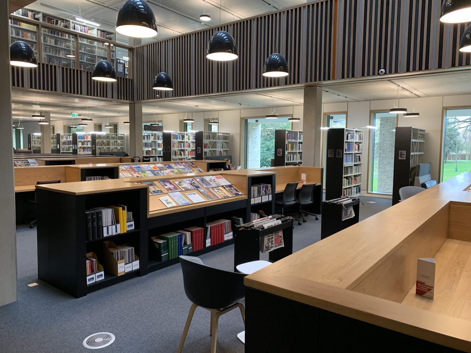 Roehampton Library Laudescher